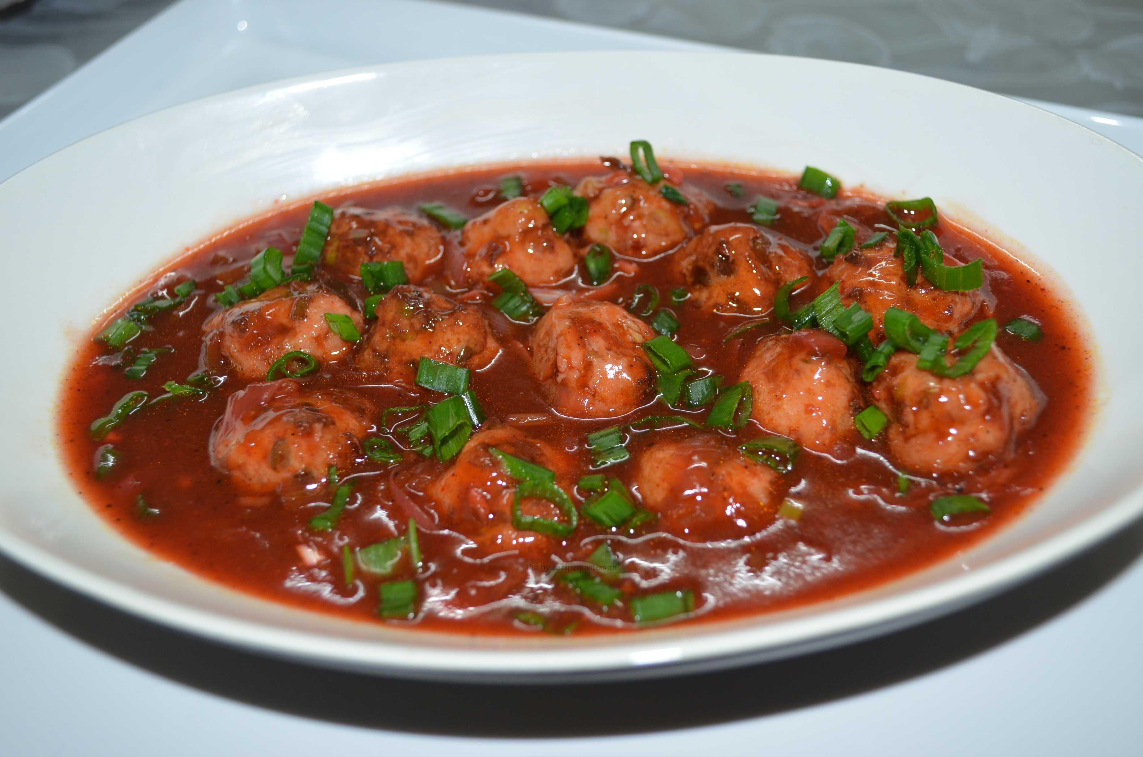 Chicken balls in hot sauce by rahat zaid recipe masters recipe image forumfinder Image collections