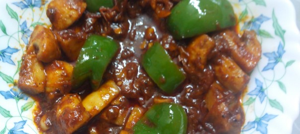 chilli mushroom